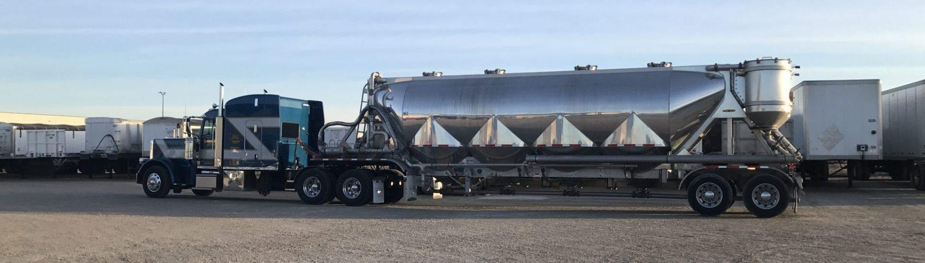 Dry Bulk Truck Blowers : Vacuum pneumatic lotz trucking inc